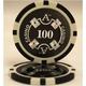 Quattro Assi(クアトロ・アッシー)ポーカーチップ100枚セット 【2色グリーン&ブラック】 - 縮小画像3
