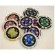 Quattro Assi(クアトロ・アッシー)ポーカーチップ100枚セット 【2色グリーン&ブラック】 - 縮小画像6