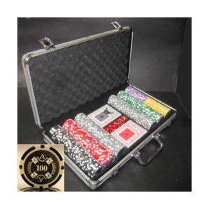 Quattro Assi(クアトロ・アッシー)ポーカーチップセット300 - 拡大画像