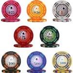 フォースポット チップセット100枚(1、 10、 100、 500) - カジノチップ・ポーカーチップ