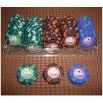フォースポット チップセット100枚 (25 、 100 、 500) - カジノチップ
