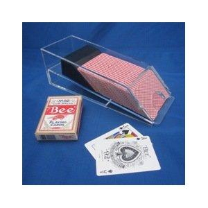 <実用版>カードシュー・シューター -6デック用 【プロ仕様ゲーム用品】 - 拡大画像