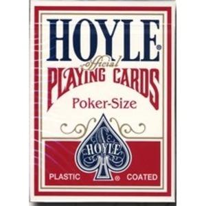 HOYLE ホイル (ポーカーサイズ) 【レッド 】 - 拡大画像