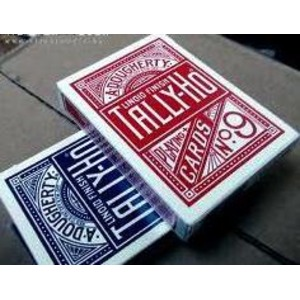 TALLY-HO タリホー サークルバック (ポーカーサイズ) 【レッド 】 - 拡大画像
