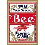 Bee ビー (ポーカーサイズ) No.92 Club Special -レッド-
