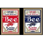 Bee ビー (ポーカーサイズ) No.92 Club Special -ブルー-