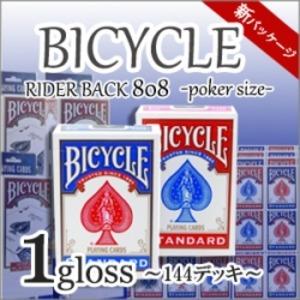 BICYCLE ライダーバック808 新パッケージ 1グロス(144デッキ) - 拡大画像