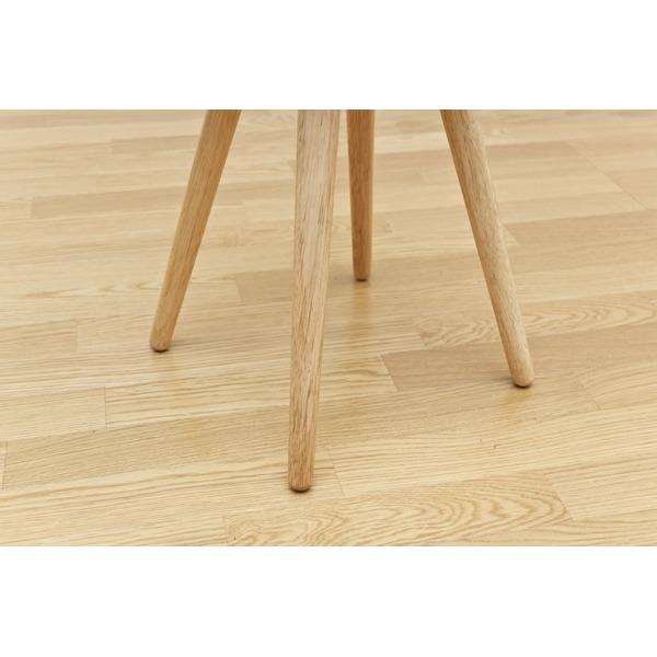 丸型スツール(BAGLE) 【1脚】 高さ44.5cm 木製 ナチュラル 【完成品】