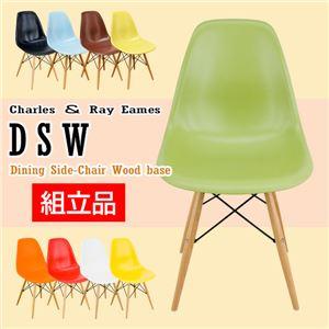 イームズ サイドシェルチェア(K/D)DSW/ウッドベース