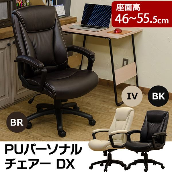 PUパーソナルチェア DX IV アイボリー
