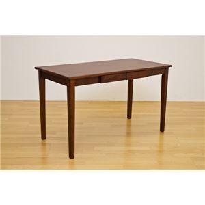 木製テーブル120×60cm ブラウン(BR)