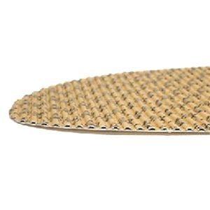 【お徳用パック 40足入り】 ペーパーインソール/紙製靴中敷き 【女性用24cm】 抗菌タイプ 波型加工 『アシート』