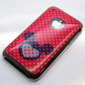 Rix(リックス) ディズニー (Disney) iPhone用ディズニーキャラクターバックパネル (ジャストガール) RX-IJK422C 【2個セット】 - 拡大画像
