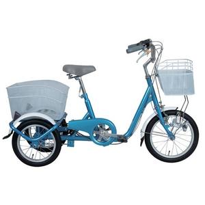 【ロータイプ三輪自転車】ロータイプ・スイングチャーリー MG-TRE16SW ブルー  - 拡大画像