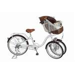 Bambina フロントチャイルドシート付 三輪自転車 MG-CH243F