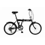 折畳み自転車 ACTIVE911 ノーパンクFDB20 6S MG-G206N-BK
