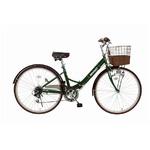 折畳み自転車 RENAULT シティFDB26 6S MG-RN266C