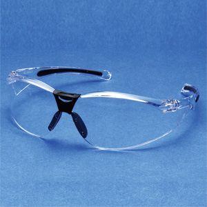 快適・オシャレ アイケア グラス(花粉・スポーツ・ファッション・目の保護) EC-03 C1 クリア - 拡大画像