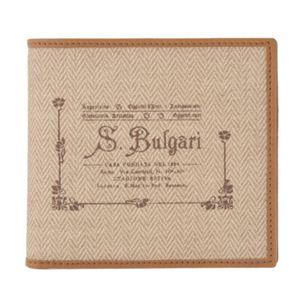 Bvlgari(ブルガリ) 二つ折り財布 32013 NATURAL 【ブランド箱入り】 - 拡大画像