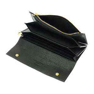 SONNE(ゾンネ) SOD002B BLK 長財布(ファスナー付)