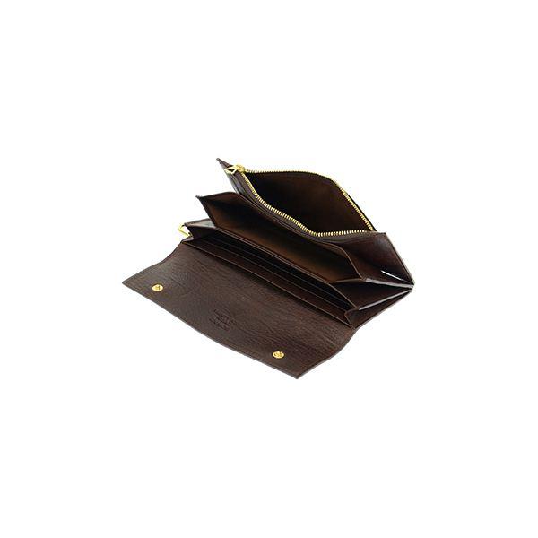 SONNE(ゾンネ) SOD002B BRW 長財布(ファスナー付)