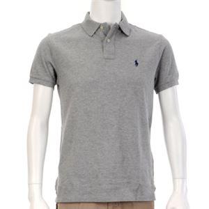 Ralph Lauren(ラルフローレン) MNBLKNIM1I10047/D86GREY/L ポロシャツ半袖 - 拡大画像