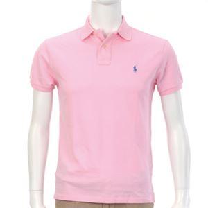 Ralph Lauren(ラルフローレン) MNBLKNIM1I10047/D53PINK/XXL ポロシャツ半袖 - 拡大画像