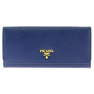 Prada (プラダ) 1M1132 S/ME/BLU 長財布 - 拡大画像