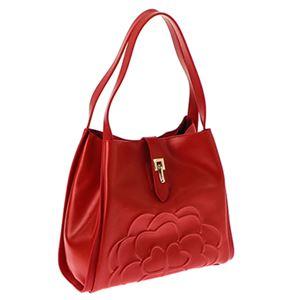 FOLLI FOLLIE (フォリフォリ) SB16L021GR/RED 手提げバッグ