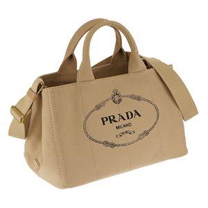 Prada (プラダ) 1BG642 CANAPA/CORDA 手提げバッグ