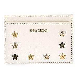 Jimmy Choo(ジミーチュウ) NOELLA LTU/WHT/M.MIX カードケース