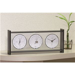 スーパーEXギャラリー気象計・時計 EX-793 - 拡大画像