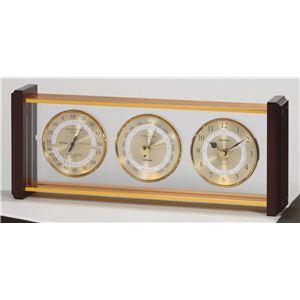 スーパーEX気象計・時計 EX-743 - 拡大画像