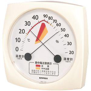 【台所・厨房に】食中毒注意計(食中毒説明書付) TM-2511 - 拡大画像