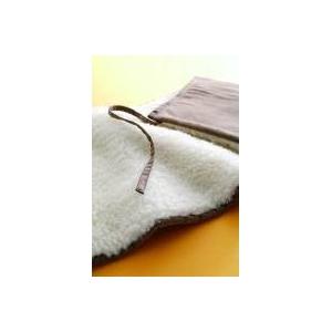 ソフゥール あったか巻きスカート LL〜4Lサイズ ブラウン - 拡大画像