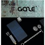 GAZE Xperia XZ Premium Matt Python Diary ブルー