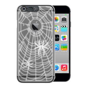 SG iPhone6 i-Clear イルミネーションケース Spider Black - 拡大画像