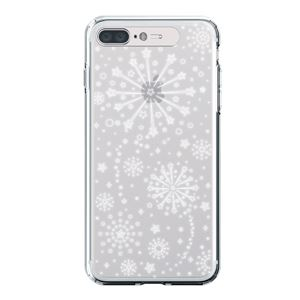 LIGHT UP CASE iPhone 8 Plus / 7 Plus Soft Lighting Clear Case Fireworks (ゴールド)