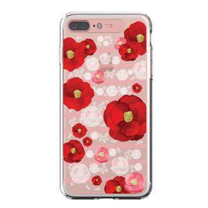 LIGHT UP CASE iPhone 8 Plus / 7 Plus Soft Lighting Clear Case Flower Rosa (ローズゴールド)