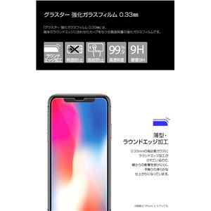 GLASTAR iPhone XR 2.5D TEMPERED GLASS Clear