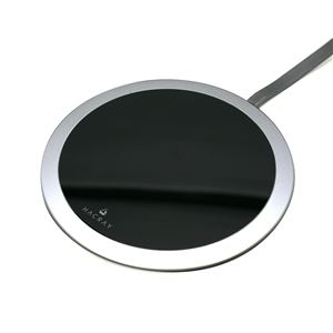 HACRAY Super Slim Wireless Charging Plate ガンメタル - 拡大画像