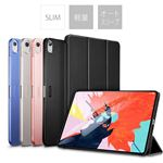 ESR 2018 iPad Pro 11.1 ウルトラスリム Smart Folio ケース Navy Blue