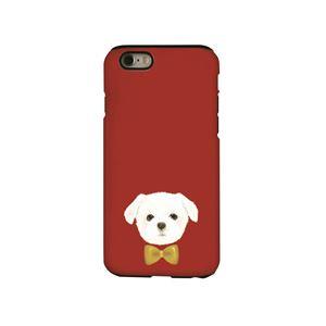 Dparks iPhone6/6s タフケース Dog シリーズ Maltese - 拡大画像