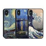Dparks iPhone XS / X spirit case ローヌ川の星月夜