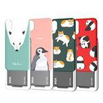 DESIGN SKIN iPhone XS / X SLIDER GRAPHIC ペンギン
