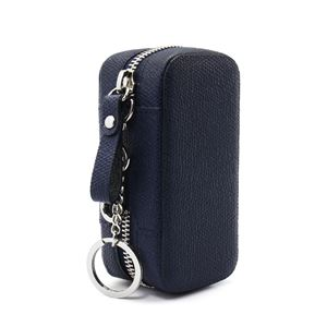 HANSMARE iQOS LEATHER CASE ネイビー - 拡大画像