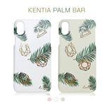 Happymori iPhone XS / X kentia palm bar ピンク