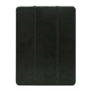 HACRAY iPad 9.7インチ専用 ペンホルダー付きSmart Filio Case ブラック - 拡大画像
