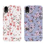 SO SEVEN iPhone XR SO SEVEN FASHION TOKYO WHITE CHERRY BLOSSOM FLOWERS