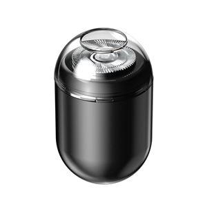 DECEM 超小型USBミニシェーバー ブラック - 拡大画像